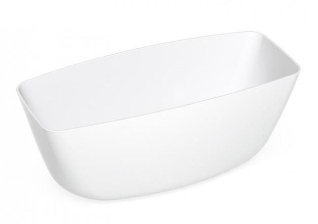 badekar 160x80 Pura Badekar 160x80 Støpemarmor, Hvit   VVS Komplett badekar 160x80