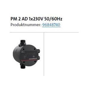 Grundfos presskontroll PM2 1,5-5 bar, til JP5